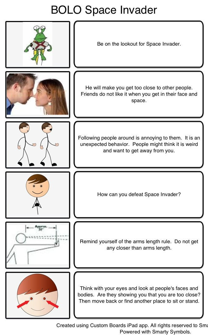 Universal image intended for free printable social stories worksheets