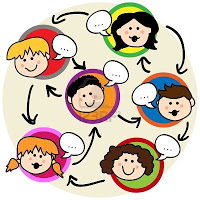 12064224-social-network-concept-fun-cartoon-of-kids-talking-and-being-interconnected