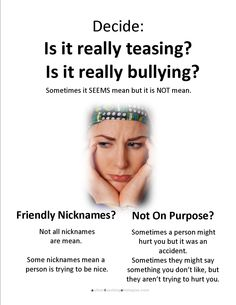 ... Your Toolbox for Dealing with Teasing and Bullying - lunchbuddiesplus